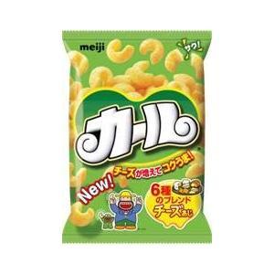 ★まとめ買い★ 明治 カールチーズあじ ×10個【イージャパンモール】|ejapan