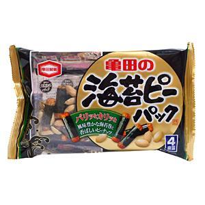 【キャッシュレス5%還元】★まとめ買い★ 亀田製菓 海苔ピーパック ×12個【イージャパンモール】|ejapan