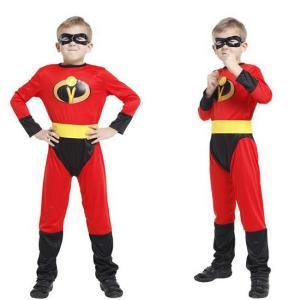 ハロウィン コスプレ コスチューム 男の子 3点セット superman 子供用 Halloween衣装 変装 パーティー イベント 仮装 学祭キッズ ejej-shopping