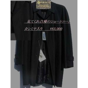 カシミヤ入りコート《2L》