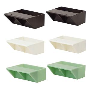 LABRICO(ラブリコ)2×4棚受けダブル 3色 平安伸銅工業|ejoy