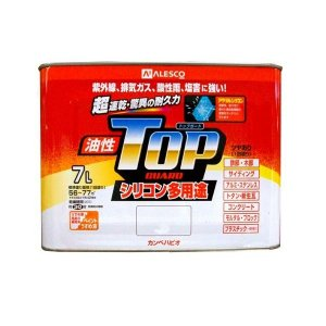 カンペハピオ トップガード 7L (油性 つやあり 多用途 塗料)|ejoy