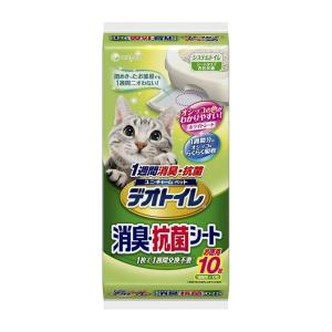 ユニ・チャーム 1週間消臭・抗菌デオトイレ 取りかえ専用消臭・抗菌シート 10枚入り|ejoy