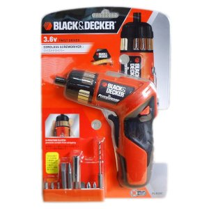 ブラックアンドデッカー(BLACK+DECKER) ツイストドライバー 3.6V PLR36C|ejoy