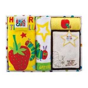 タオル ギフト はらぺこあおむし HP3001 コンパクトバスタオル/フェイスタオル/ウォッシュタオル/ブックカバー ベビー 赤ちゃん 出産祝い|ejoy