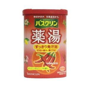入浴剤 バスクリン 薬湯すっきり発汗浴 600g 「医薬部外品」 ツムラ|ejoy