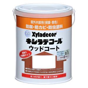 水性キシラデコールウッドコート 0.7L  色:タンネングリーン 大阪ガスケミカル株式会社|ejoy