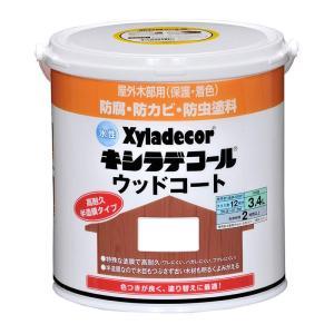 水性キシラデコールウッドコート 3.4L  色:タンネングリーン 大阪ガスケミカル株式会社|ejoy