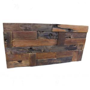 古材アンティークウッドウォールパネル W616 600×300mm(木製 アンティーク オールド アクセント ハンドメイド デザイン アジアン ナチュラル DIY )