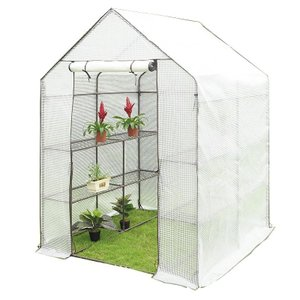 JoyGarden 大型温室 0.6坪 143×143×195cm BDZ20202(ガーデンハウス ビニールハウス グリーンハウス 菜園ハウス ガーデングラック)|ejoy
