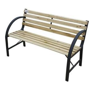 パークベンチ 3人用 (パークベンチ ベンチチェア ガーデンチェア 屋外ベンチ 木製 天然木)|ejoy