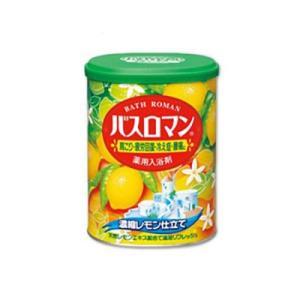 アース製薬 入浴剤 バスロマン 濃縮レモン仕立て 850g 「医薬部外品」|ejoy