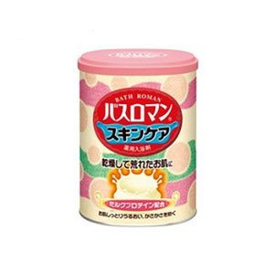 アース製薬 入浴剤 バスロマン スキンケアー ミルクプロテイン 680g 「医薬部外品」|ejoy