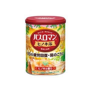 アース製薬 入浴剤 バスロマン ヒノキ浴 680g 「医薬部外品」|ejoy