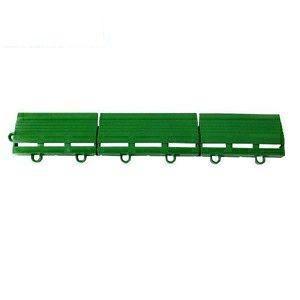 ジョイント人工芝 若草ユニット Eタイプ用 細縁駒M型 グリーン|ejoy
