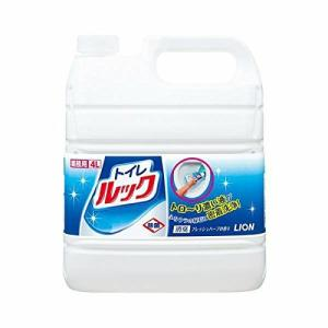 ライオン トイレのルック 4L 業務用 洗剤 爽やか ハーブの香り トイレ用洗剤 尿石 特大 除菌 ニオイすっきり 詰め替え用|ejoy
