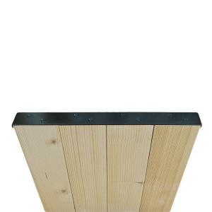 和気産業 Walist ウォリスト ツーバイ材用束ねる金具4枚用 黒 WAT-025 (DIY たばねる 金具 木材用)|ejoy