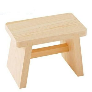 檜風呂椅子 中 国産ひのき製 風呂椅子|ejoy
