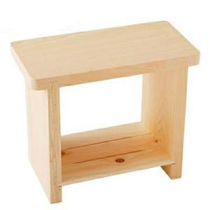 檜風呂椅子 特大 国産ひのき製 風呂椅子|ejoy