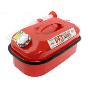 メルテック ガソリン携行缶 10L 消防法適合品 KHK 亜鉛メッキ鋼鈑 鋼鈑厚み:0.8mm 積重ねタイプ Meltec FZ-10(大自工業 カー用品 セキュリティ )|ejoy