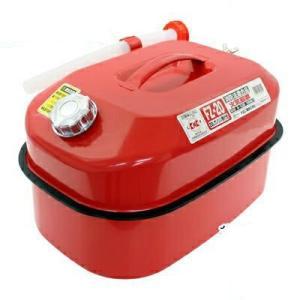 メルテック ガソリン携行缶 20L 消防法適合品 KHK 亜鉛メッキ鋼鈑 鋼鈑厚み:0.8mm 積重ねタイプ Meltec FZ-20(大自工業 カー用品 セキュリティ )|ejoy