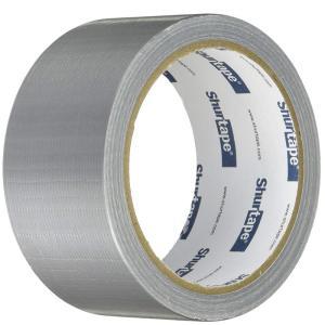 アサヒペン 水に強い 強力粘着 パワーテープ 48mm×10m シルバー 4970925602206