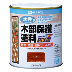 カンペハピオ 水性 木部保護塗料 0.7L カスタニ|ejoy