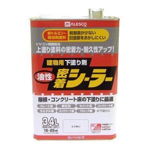 カンペハピオ 油性 密着 塗料 シーラー 3.4L とうめい (下塗り塗料)|ejoy