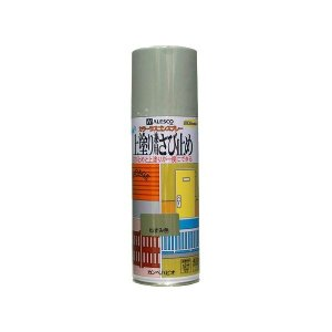 カンペハピオ 上塗り 兼用 さび止め カラー ラスゴン スプレー 420mL ねずみ色 (防錆 防サビ 錆止め 塗装)|ejoy