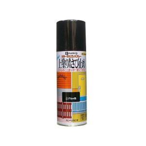 カンペハピオ 上塗り 兼用 さび止め カラー ラスゴン スプレー 420mL こげ茶 (防錆 防サビ 錆止め 塗装)|ejoy