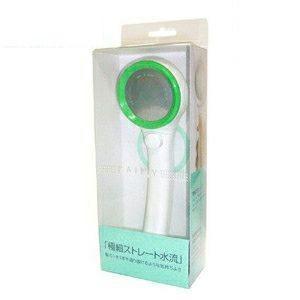 三栄水栓(SANEI) 節水型シャワーヘッド RAINY オーガニック グリーン|ejoy