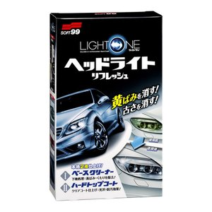SOFT99 ( ソフト99 ) LIGHT ONE ヘッドライトリフレッシュ  E-56 (洗車 ...