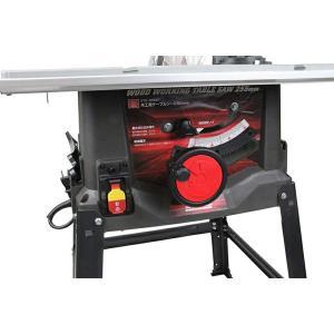 SK11 木工用テーブルソー 最大幅1000×奥行570mm STS-255ET 刃径255mm チップソー付き 藤原産業 DIY|ejoy|05