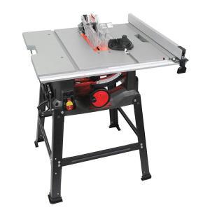 SK11 木工用テーブルソー 最大幅1000×奥行570mm STS-255ET 刃径255mm チップソー付き 藤原産業 DIY|ejoy|06