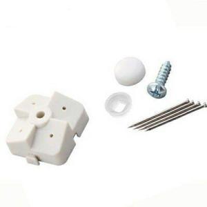 光 石膏ボード用パンチングボード止め具セット 白 4セット入 PBST2 抜き跡が目立ちにくい