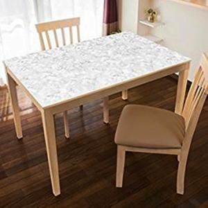 テーブルデコ 90×150cm 大理石 明和グラビア おしゃれに貼るテーブルクロス|ejoy