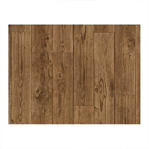 貼ってはがせる床リノベシート 45cm×120cm アンティーク木 ( リノベーション 床シート シール 模様替え フローリング 床デコ DIY)|ejoy