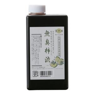 ターナー色彩 無臭柿渋 500ml (木材用 布用 天然塗料 染料 天然の青柿からできた100%天然素材の着色・防水・防腐剤 )|ejoy