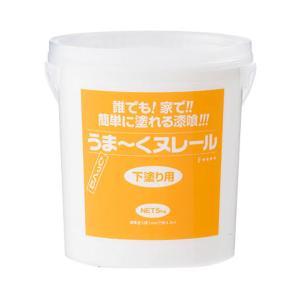 うま〜くヌレール5Kg 下塗り用 うまーくヌレール漆喰 初心者 日本プラスター|ejoy