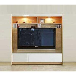 GUV塗装 幅1600×高1550×奥457 エストHW色160TV 家具産地 大川製 ACEST|ekaguya