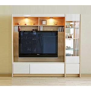幅178×高155 エストHW色TVsetキュリオ38+TVH140 家具産地大川製 GUV塗装 ACEST|ekaguya