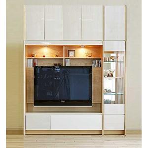 幅178×高190-214エストHW色TVsetキュリオ38+TVH140 大川製 受注生産 GUV塗装 ACEST|ekaguya