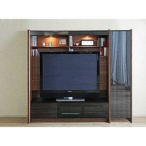 幅160-180×高155エストHB色TVsetロッカ-+TVH140 大川製 受注生産 GUV塗装 ACEST|ekaguya
