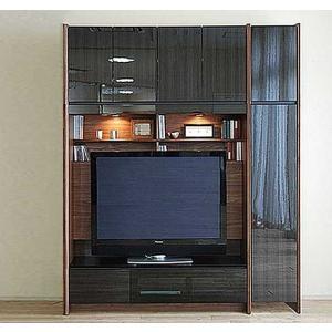 幅160-180×高190-214 エストHB色TVset ロッカ-+TVH140 大川製 受注生産 GUV塗装 ACEST|ekaguya