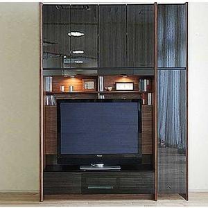 幅160-180×高215-245 エストHB色TVset ロッカ-+TVH140 大川製 受注生産 GUV塗装 ACEST|ekaguya