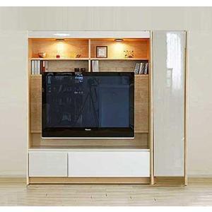 幅160-180×高155エストHW色TVsetロッカ-+TVH140 大川製 受注生産 GUV塗装 ACEST|ekaguya