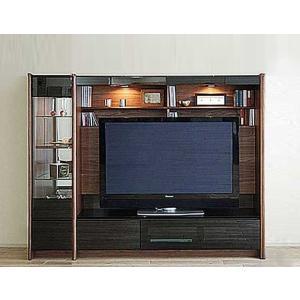 幅198×高155 エストHB色TVsetキュリオ38+TVH160 家具産地大川製 GUV塗装 ACEST|ekaguya