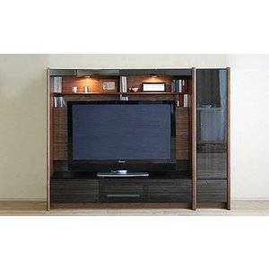 幅198×高155 エストHB色TVset 板戸38+TVH160 大川製 GUV塗装 ACEST|ekaguya