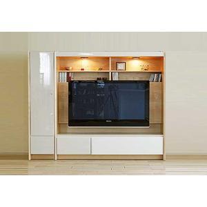 幅198×高155 エストHW色TVset 板戸38+TVH160 大川製 GUV塗装 ACEST|ekaguya