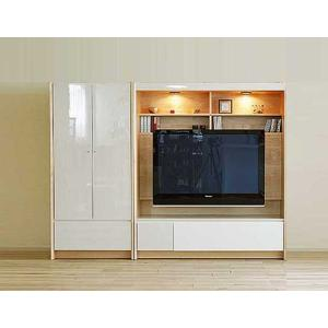 幅212×高155 エストHW色TVset 板戸72+TVH140 大川製 GUV塗装 ACEST|ekaguya